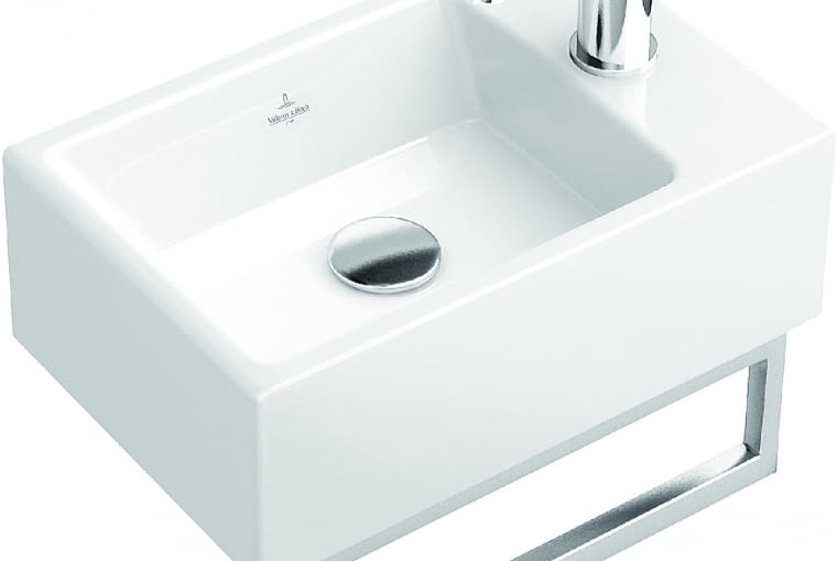 MEMENTO, umywalka ścienna, 40 x 26 cm 1100 zł Villeroy & Boch