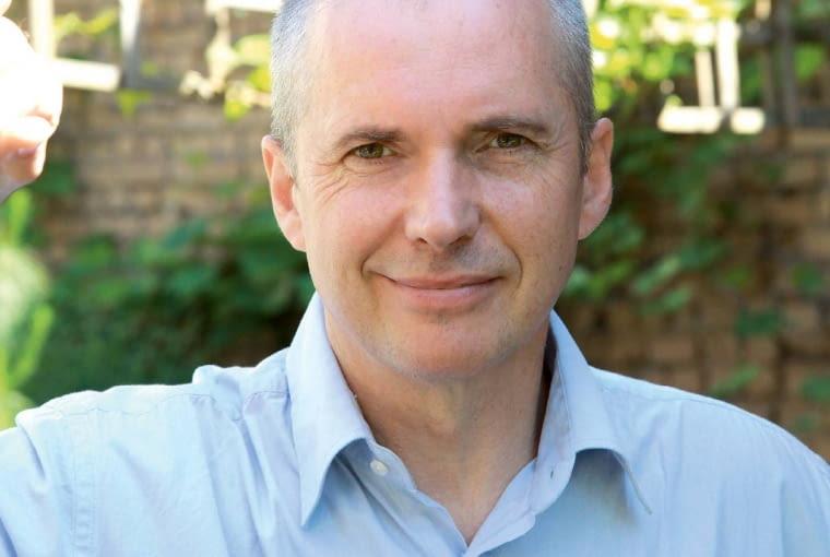 Dariusz Kruk, architekt, współautor ogrodu pośród łódzkich kamienic