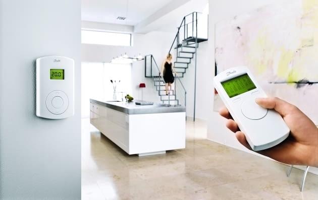 Radiową regulację sterowania można zastosować nawet po wykończeniu domu