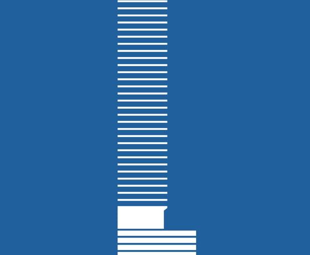 Cosmopolitan, Warszawa - Helmut Jahn. Więcej o projekcie przeczytasz <a href=http://www.bryla.pl/bryla/1,85301,19011619,ruchoma-rzezba-na-patio-cosmopolitan-nowa-przestrzen-miejska.html>TUTAJ</a>