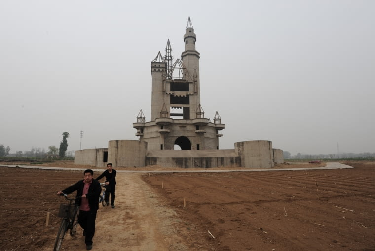 Opuszczony Disneyland pod Pekinem