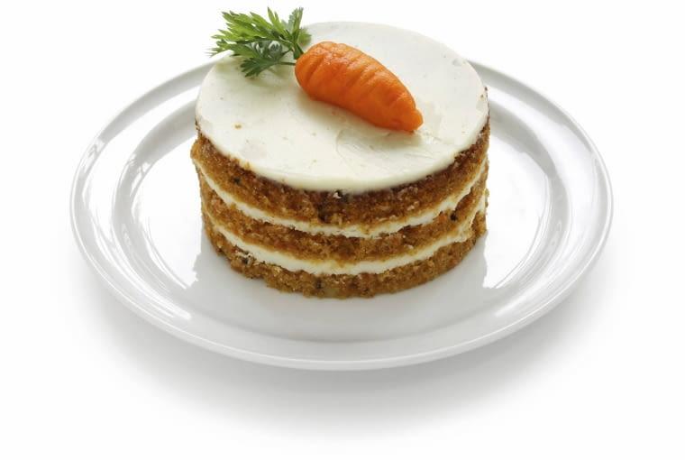 Tort z marchewki z serkiem mascarpone