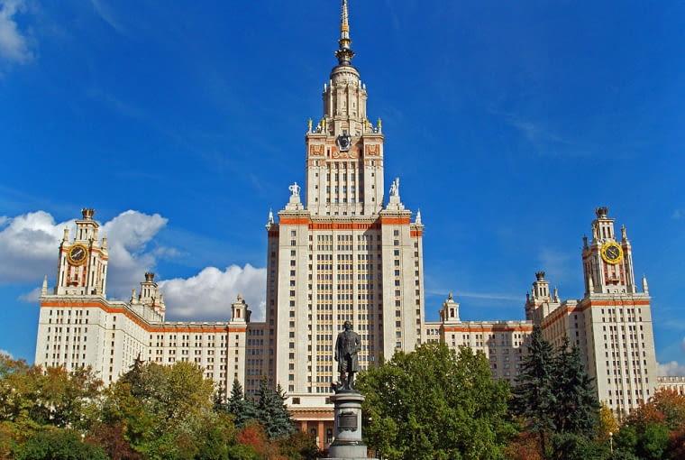 Uniwersytet Moskiewski, fot. Pavel K (Wikimedia, CC BY-SA 3.0)