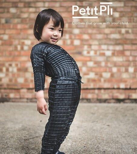 Projekt - PETIT PLI: clothes that grow, autorstwa Ryan'a Yasin'a