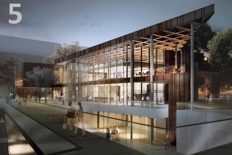 Projekt Centrum Dziedzictwa Historycznego Miasta Gdańska autorstwa Studia Architektonicznego Kwadrat z Gdyni.