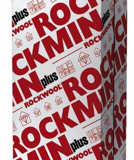 Płyta stosowana do ociepleń oraz izolacji akustycznej Rockmin Plus, ROCKWOOL. Cena: 12,70 zł/mkw