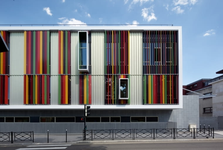 Kompleks Cité des loisirs w Courbevoie we Francji