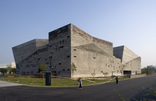 Muzeum Historyczne w Ningbo, proj. Wang Shu / Amateur Architecture Studio, 2003-2006
