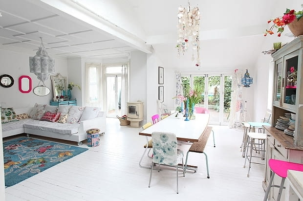 jasny dom, prosty dom, jak powiększyć wnętrze, dom w skandynawskim stylu, elegancki dom