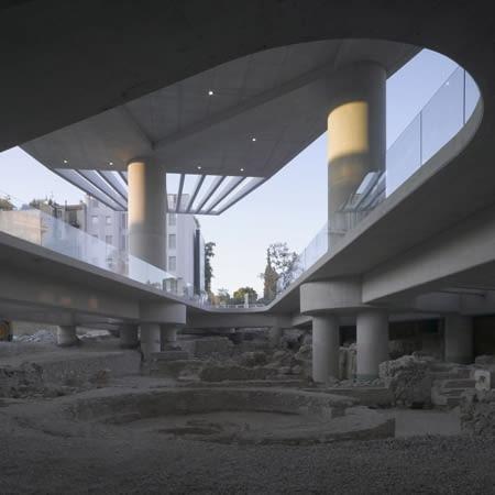 Bernard Tschumi Architects, New Acropolis Museum, Ateny, Grecja, muzeum