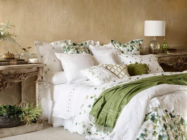 Sypialnia w 5 kolorach.