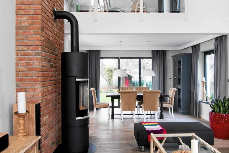 dom, wystrój wnętrz, styl loftowy