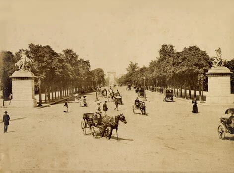 ulica, przestrzeń miejska, urbanistyka, paryż, miasto
