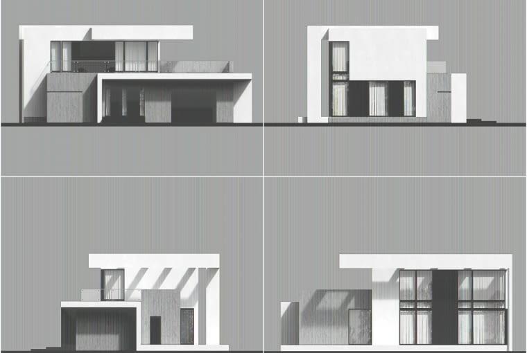 Rozłożysta sylwetka domu wyróżnia się spośród innych czytelnym - już na pierwszy rzut oka - rozmachem. Granic zdrowego rozsądku nie przekraczają jednak ani spora powierzchnia użytkowa budynku, ani zaproponowane przez architektów rozwiązania przestrzenne.