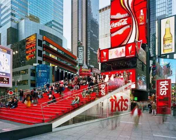 manhattan, przestrzeń miejska, architektura, publiczne, nowy jork, plac, usa, father duffy square, pawilon