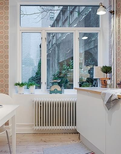 mieszkanie w kamienicy, mieszkanie z piecem kaflowym, mieszkanie w kamienicy, skandynawski styl