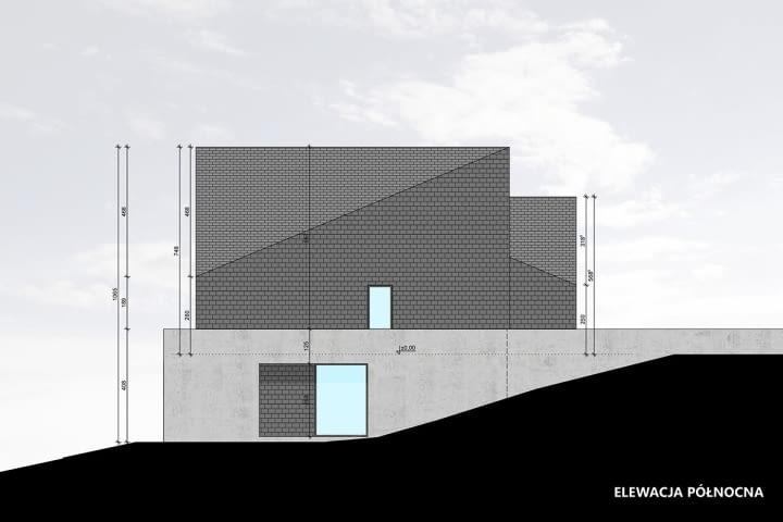 Dom w Krotoszowicach - projekt nowoczesnego domu