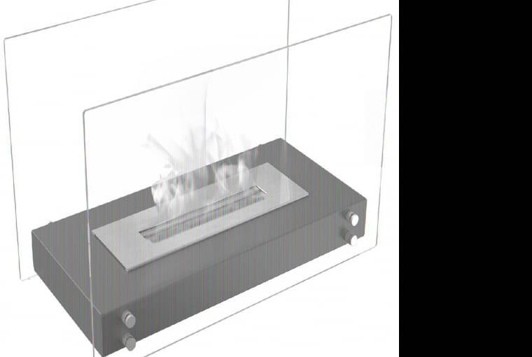 Kompaktowe urządzenie (39×25 cm) zmalowanej stali ihartowanego szkła da się postawić wszędzie - jego spód się nie nagrzewa, ok. 320 zł, Leroy Merlin.