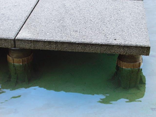 taras wentylowany,taras nad wodą