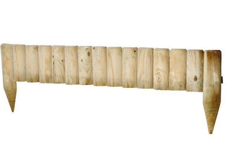 Palisada, drewno, ok. 15 zł, OBI, Leroy Merlin