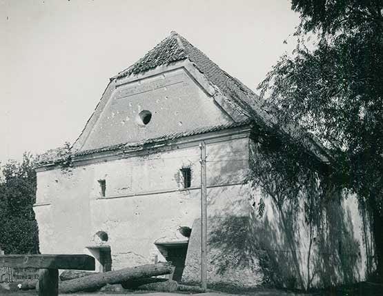 Spichlerz Bliźniaczy w Kazimierzu Dolnym - zdjęcie archiwalne