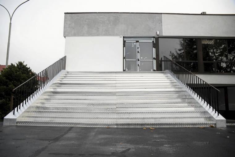 25.10.2017 Sosnowiec . Dawny Palac Slubow w Sosnowcu przy ul . 3 maja 39 . Fot . Kamila Kotusz / Agencja Gazeta SLOWA KLUCZOWE: dawny palac slubow przebudowa 3 maja 39 galeria extravagance palac slubow