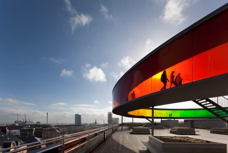 ARoS Muzeum Sztuki w duńskim mieście Aarhus, projekt: Schmidt Hammer Lassen and Olafur Eliasson Finalista w kategorii: Życie budynków/ budynki w użyciu