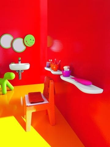 łazienki, ceramika łazienkowa, łazienka dla dzieci