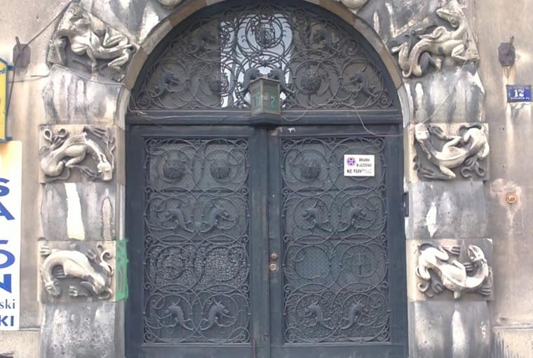 portal wejściowy, ul. Julisza Lea 17, Kraków, proj. Zygmunt Gawlik, bud. 1929