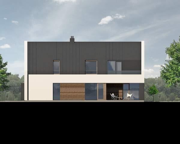 dom jednorodzinny, projekt na zamówienie