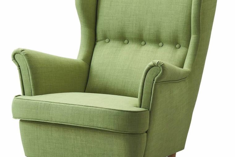 Fotele do 1000 zł: fotel Strandmon, IKEA