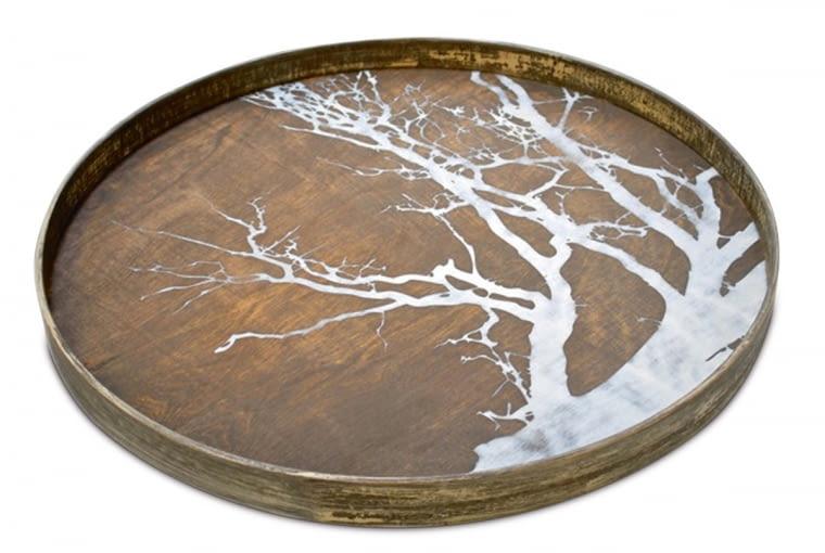 Drewniana taca White TreeNotre Monde, nap.com.pl, 450 zł