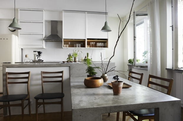 mieszkanie w Sztokholmie, nowoczesne mieszkanie, jak urządzić mieszkanie