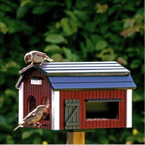 ogród,karmnik dla ptaków,ozdoby ogrodowe