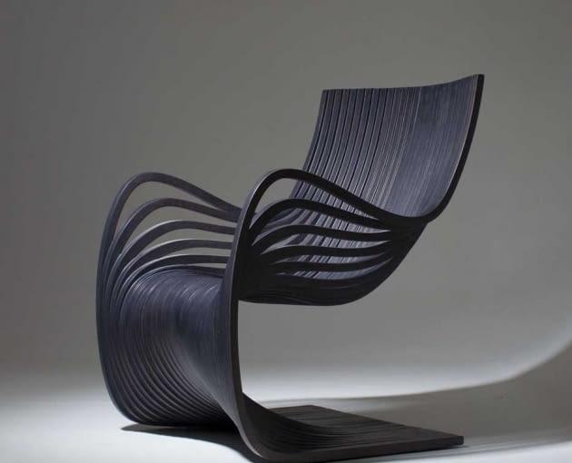 Pipo Chair dla Piegatto, projektant Alejandro Estrada