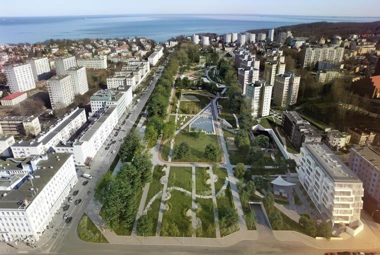 Koncepcja Parku Centralnego w Gdyni