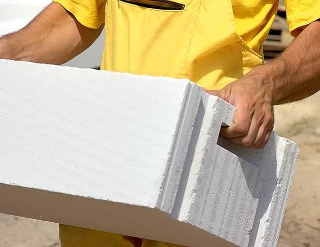 ściany jednowarstwowe, materiały budowlane, ceramika poryzowana, beton komórkowy