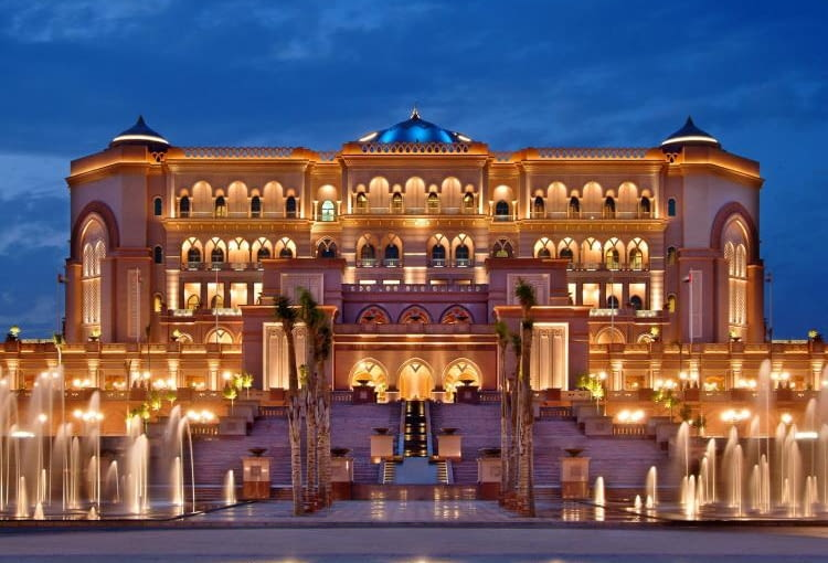 Pałac Emiratów, Abu Dhabi, Zjednoczone Emiraty Arabskie, proj. Wimberly Allison Tong and Goo (WATG)