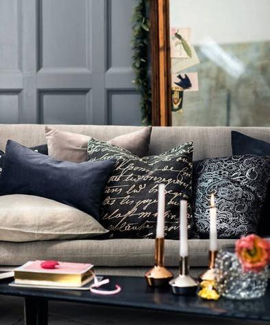 H&M Home, poduszki, pościel, akcesoria, dodatki H&M