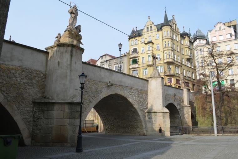 Most gotycki na Młynówce w Kłodzku