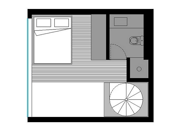 małe mieszkanie, mieszkanie z antresolą, nowoczesne małe mieszkanie