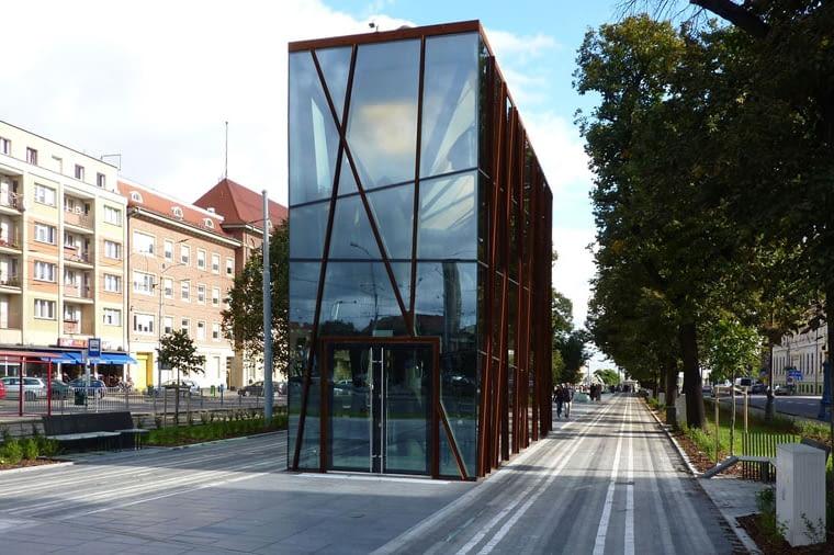 Aleja Kwiatowa w Szczecinie. Projekt Studio A4.