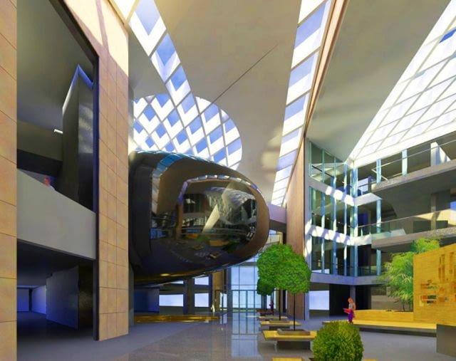Centrum Innowacji i Transferu Wiedzy Techniczno-Przyrodniczej Uniwersytetu Rzeszowskiego, proj. Edward Lach - Studio EL, 2012