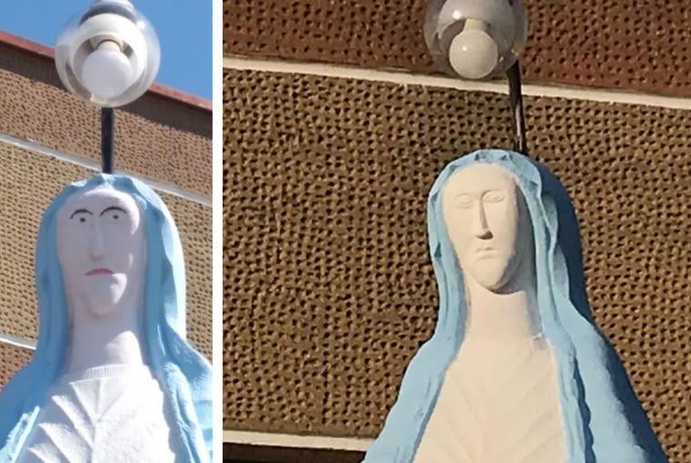 Figura Matki Boskiej z Woli Korzeniowej