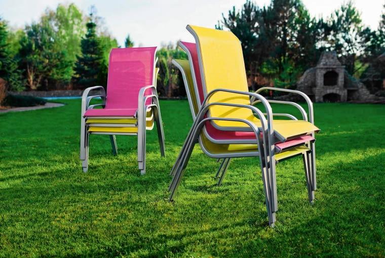 Fotele JANEIRO, aluminium, 98 zł/szt. Castorama