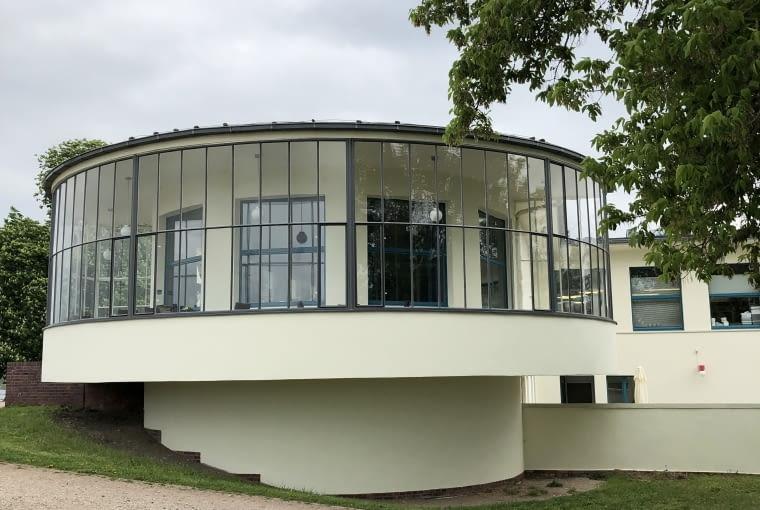 Restauracja Kornhaus w Dessau. Proj. Carl Fieger.