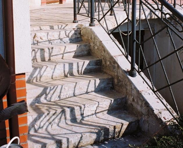 Betonowe Schody Zewnętrzne Do Poprawy ładny Dom