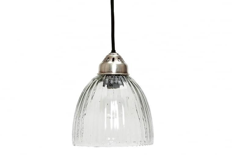 W stylu tego wnętrza: lampa wisząca, szkło, loftbar.pl, cena: 345 zł