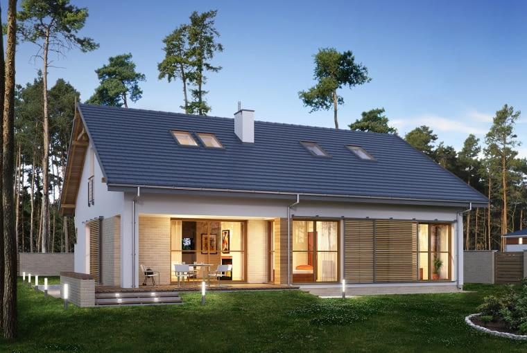 projekt gotowy, projekty domów jednorodzinnych, projekt domu