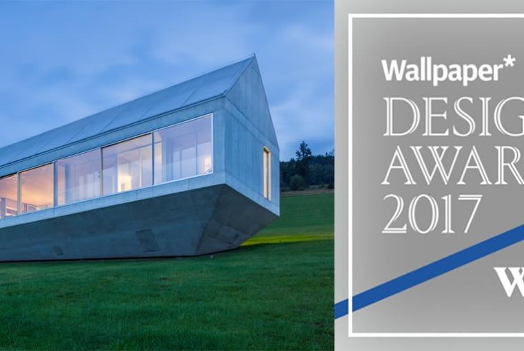 Arka - dom własny architekta Roberta Koniecznego zdobyła główną nagrodę w prestiżowym konkursie organizowanym przez magazyn Wallpaper w kategorii na Najlepszy Dom Prywatny - Wallpaper Design Awards 2017